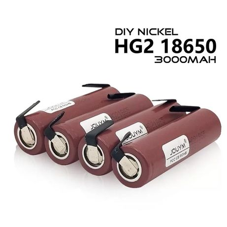 Акумулятори нові 18650 HG2 3000 mAh