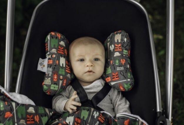 Almofada de viagem de bebé Baby Elephant Ears