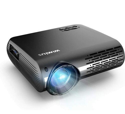 Projetor led 7000 lumens/1080P NATIVA Full HD/4K/Keystone 4D (NOVOS)