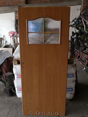 Drzwi lewe 80 wysokość 198 Olcha NOWE