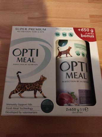 Optimeal для стерилізованих/кастрованих котів (індичка та овес)