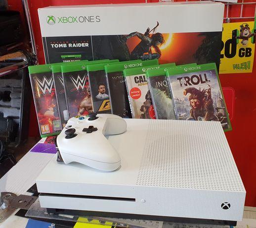 Konsola Xbox One S 1TB 9 Gier jakNowa!