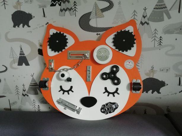 Tablica manipulacyjna Sensoryczna lis lisek fox