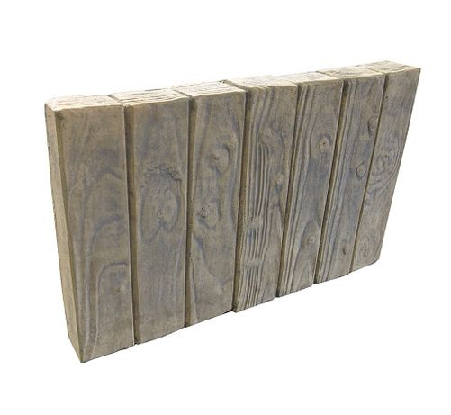 Palisada betonowa stare drewno obrzeże betonowe - producent