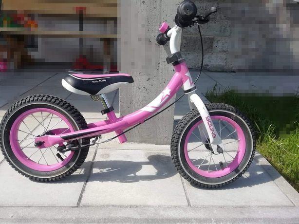 Rowerek pchacz dla dziewczynki