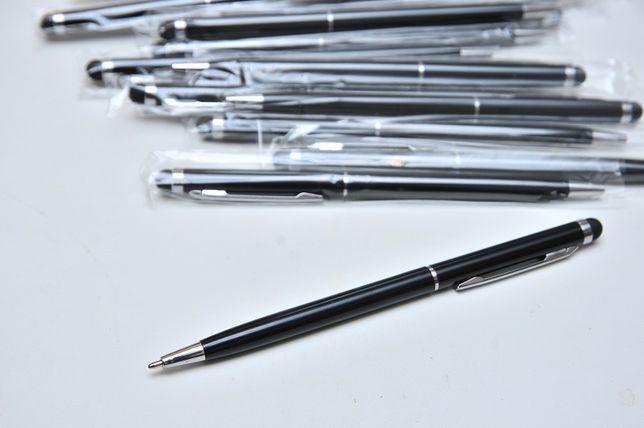 Ручка-стилус 2 в 1 для любых современных сенсорных экранов Черная