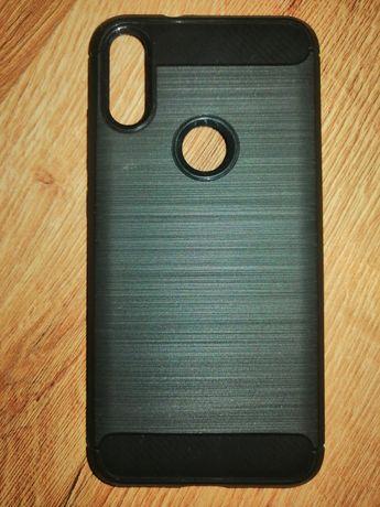 Etiu case pokrowiec xiaomi mi play 4 /64 GB czarny gumowy smartfon