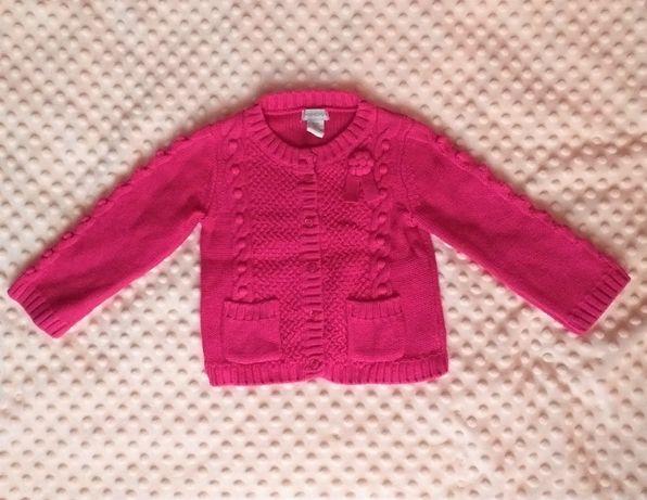 Sweterek różowy ciepły