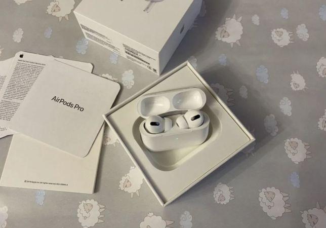 Беспроводные bluetooth-наушники Apple AirPods Pro навушники блютуз