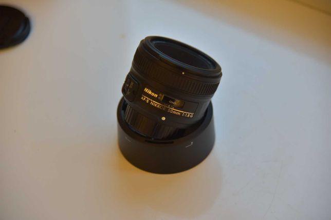 Obiektyw Nikon 50mm F:1.8 G Portretówka