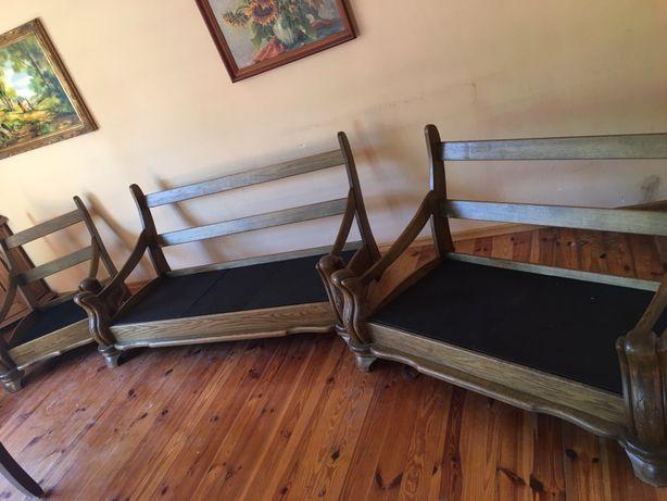 3czesciowy wypoczynek drewniany