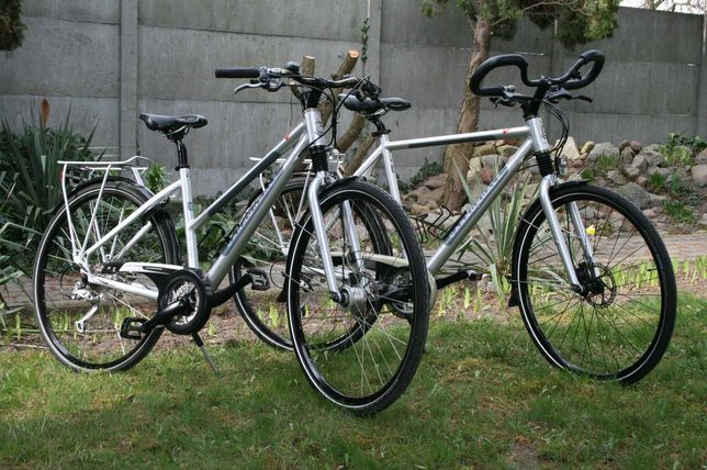 Para rowerów Cannondale street shimano deore XT
