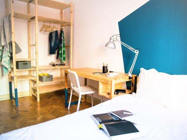 Quarto para 1 pessoa com cama de casal- sitio Live João XXI