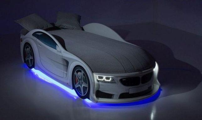 BMW/БМВ Удобная Для ребенка Кровать Машина Ліжко, - Бесплатная доставк