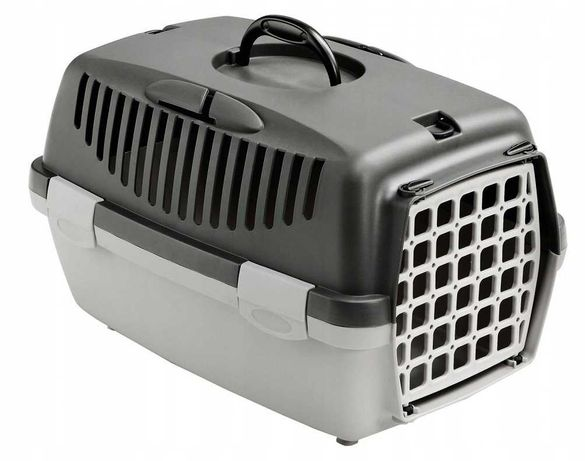 Klatka transporter dla psa kota GULLIVER 1 48x32x31 2 KOLORY!!!