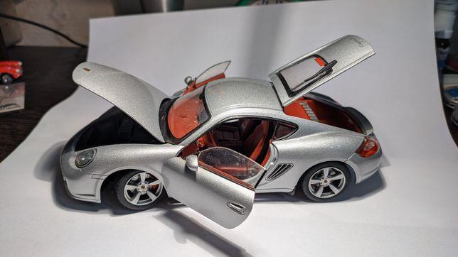 Машинка модель porsche cayman s hongwell cararama 1:24