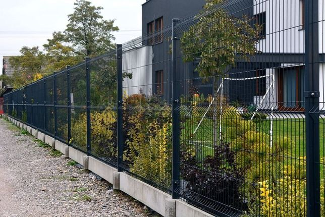 Wysokosc panela 153 cm fi 4 Komplet ogrodzenia 54 zl 1mb BRUTTO