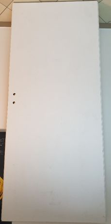 Białe drzwi 80 lewe, pełne, nieużywane