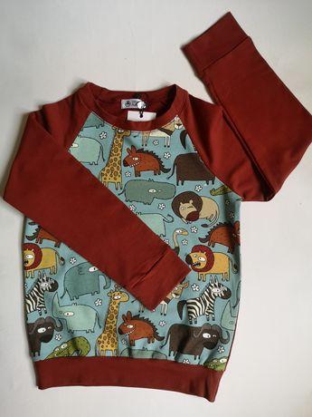 Dres 122, dres dziecięcy, nowy dres, ubrania dla dzieci