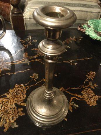 Castiçal em casquinha Séc XIX 25 cm