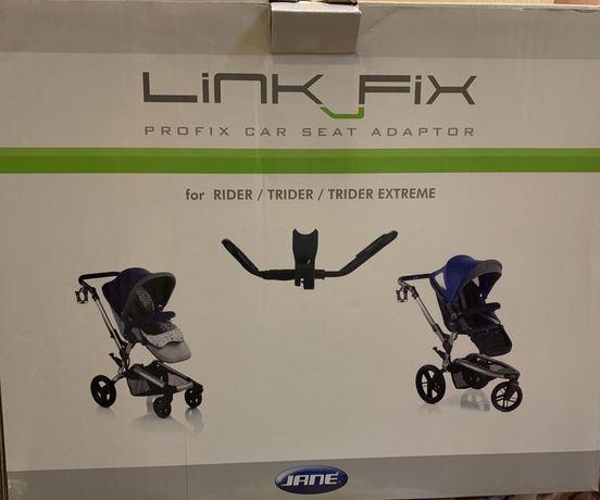 Адаптеры Lin Fix Для крепления автокресел на шасси коляски