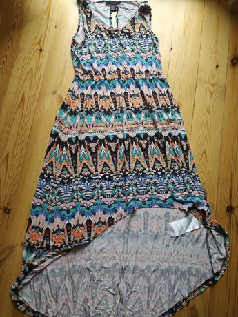 Sukienka boho  maxi AMISU r. 36