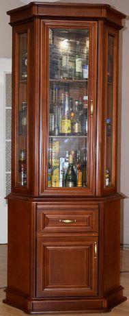 Komplet mebli dębowych/retro do salonu witryny,komoda,stół,ława,krzesł