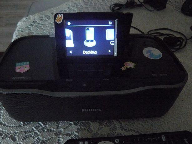Radio Internetowe Philips z pilotem 30 wat moc muz.