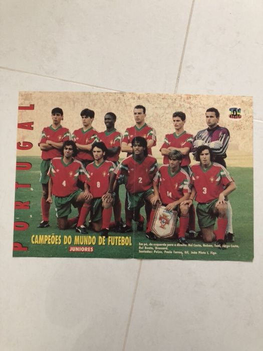 Poster Seleção de Portugal Pinhel - imagem 1