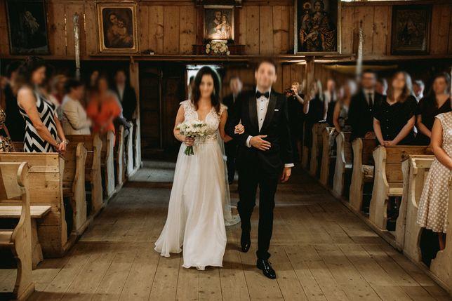 Suknia ślubna Agnieszki Światły Adora