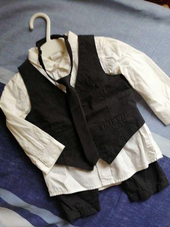 костюм тройка H&M на 4-6месяцев