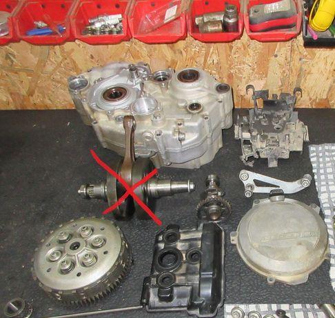 części KTM Sxf 350 rok 2011 Kartery wałek sprzęgło pokrywa popychacz
