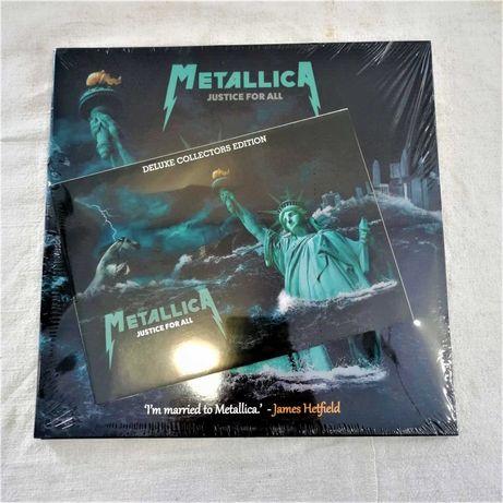 "Disco Vinil - 2X10"" - Metallica ""Justice For All"" (Deluxe)"