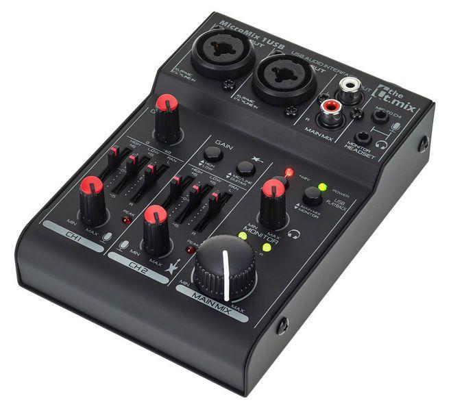 t.mix MicroMix 2 USB - interfejs, mikser Toruń - image 1