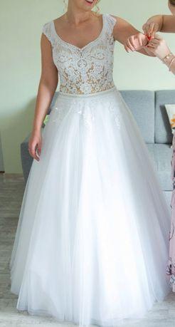 Suknia ślubna model TONYA - biała