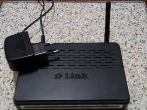 Продам WI-FI роутер DSL-2640U, Укртелеком, з блоком живлення.