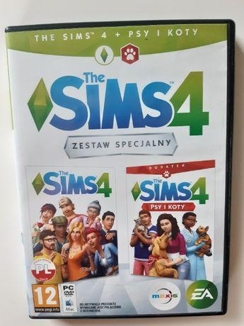 The Sims 4 Zestaw Specjalny Podstawa + Psy i Koty