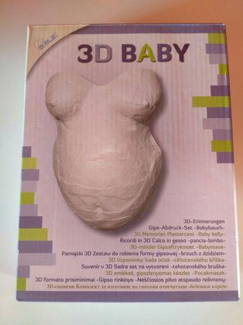 Zestaw do robienia formy gipsowej 3D firmy Mammut