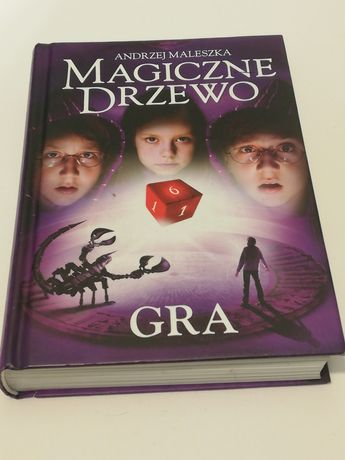 Magiczne drzewo A. Maleszka, książka, prezent