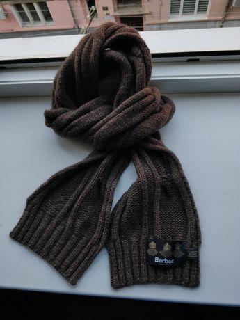 Женский шарф Barbour Women's Wool Scarf (burberry,lv, dior)