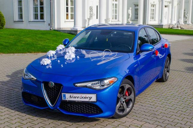 Alfa Romeo Giulią do Ślubu / Auto do ślubu / Samochód na uroczystości