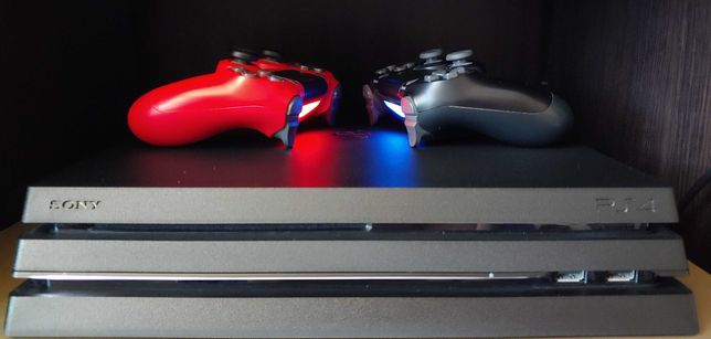 Sony Playstation 4 Pro 1Tb | 1 геймпад | 7 игр в подарок