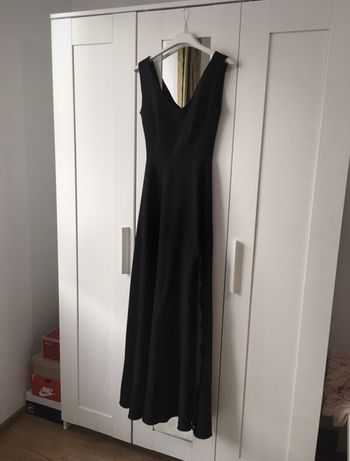 Dluga sukienka maxi studniówka