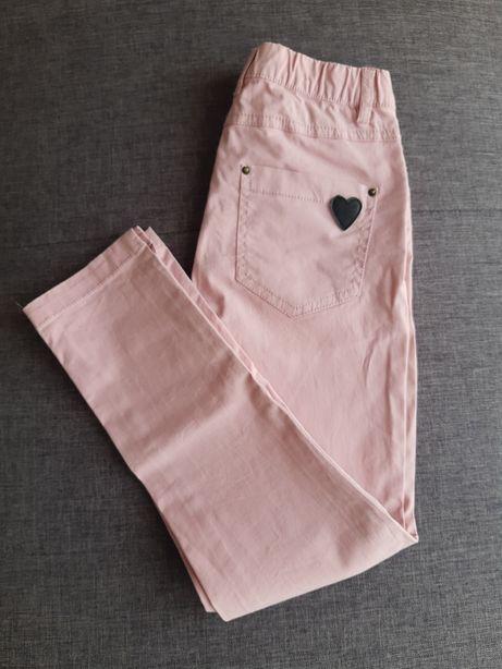 Spodnie dziewczęce rozm. 128