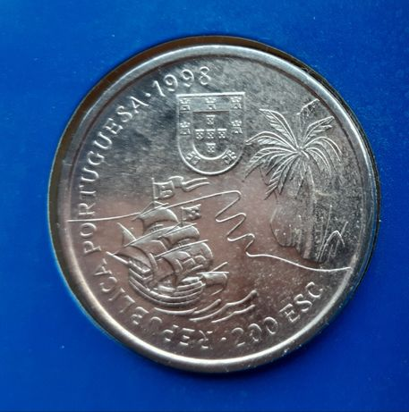 Portugal 200 escudos, 1998