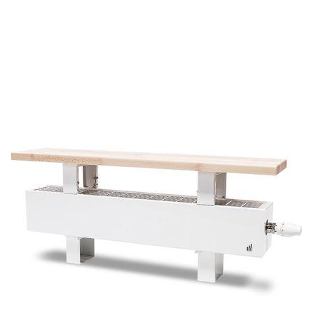 Grzejnik Purmo Aura Bench 2200 x 236 mm z ławeczką