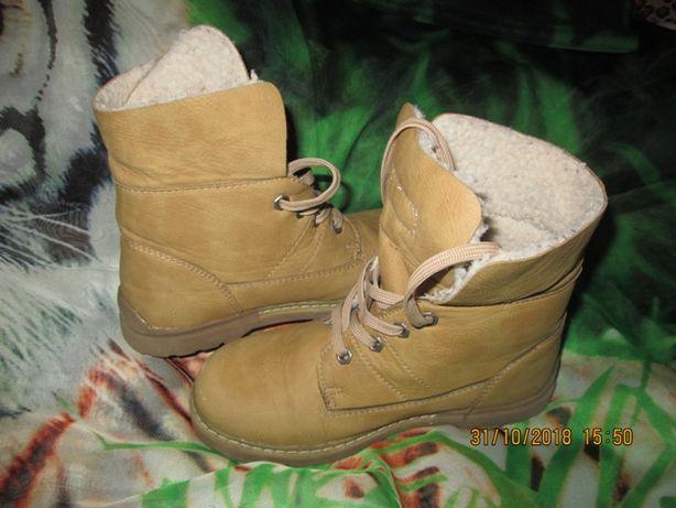 Красивые стильные ботиночки 31 размер (19,8 см стелька)