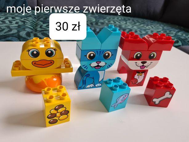 Lego duplo moje pierwsze zwierzęta