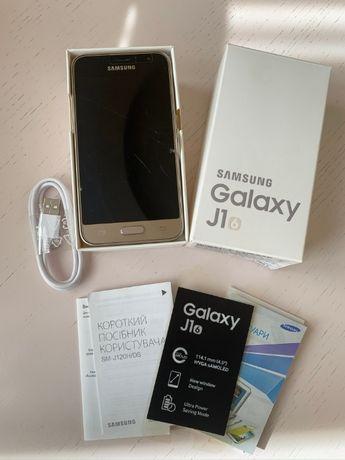 samsung galaxy j1 j120H-DS 2016 Duos полный комплект золотой