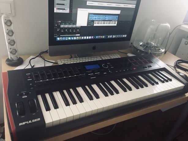 Novation Impulse 49 - klawiatura MIDI